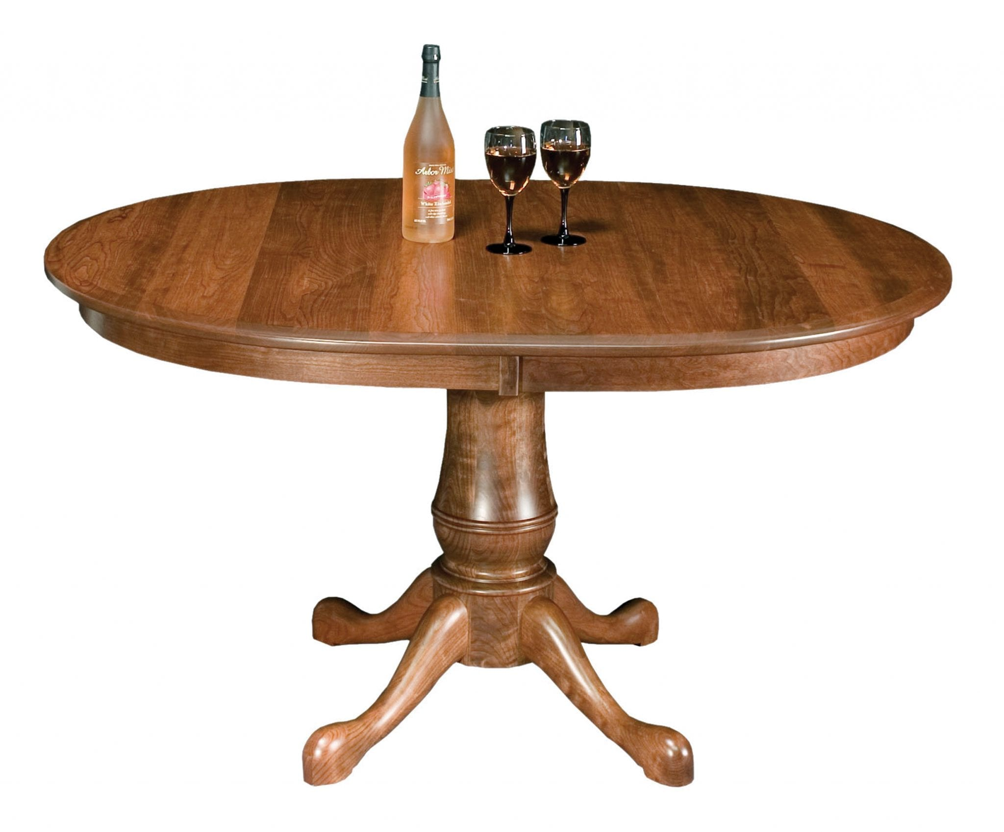 Estate Oval Self-Store Amish Dining Table | Kvadro Furniture
