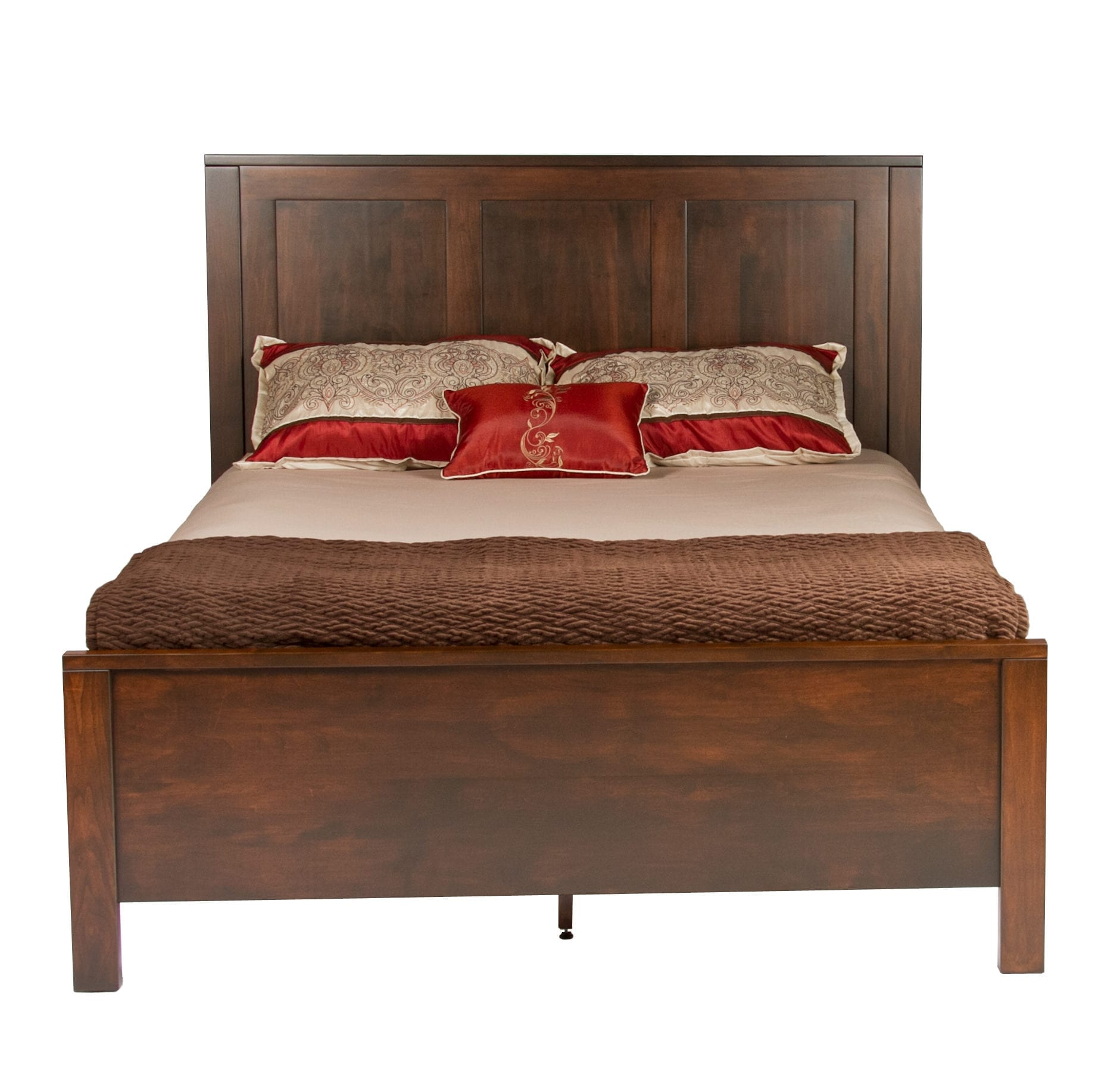 KVADRO Mission Bed / Amish Solid Wood Beds