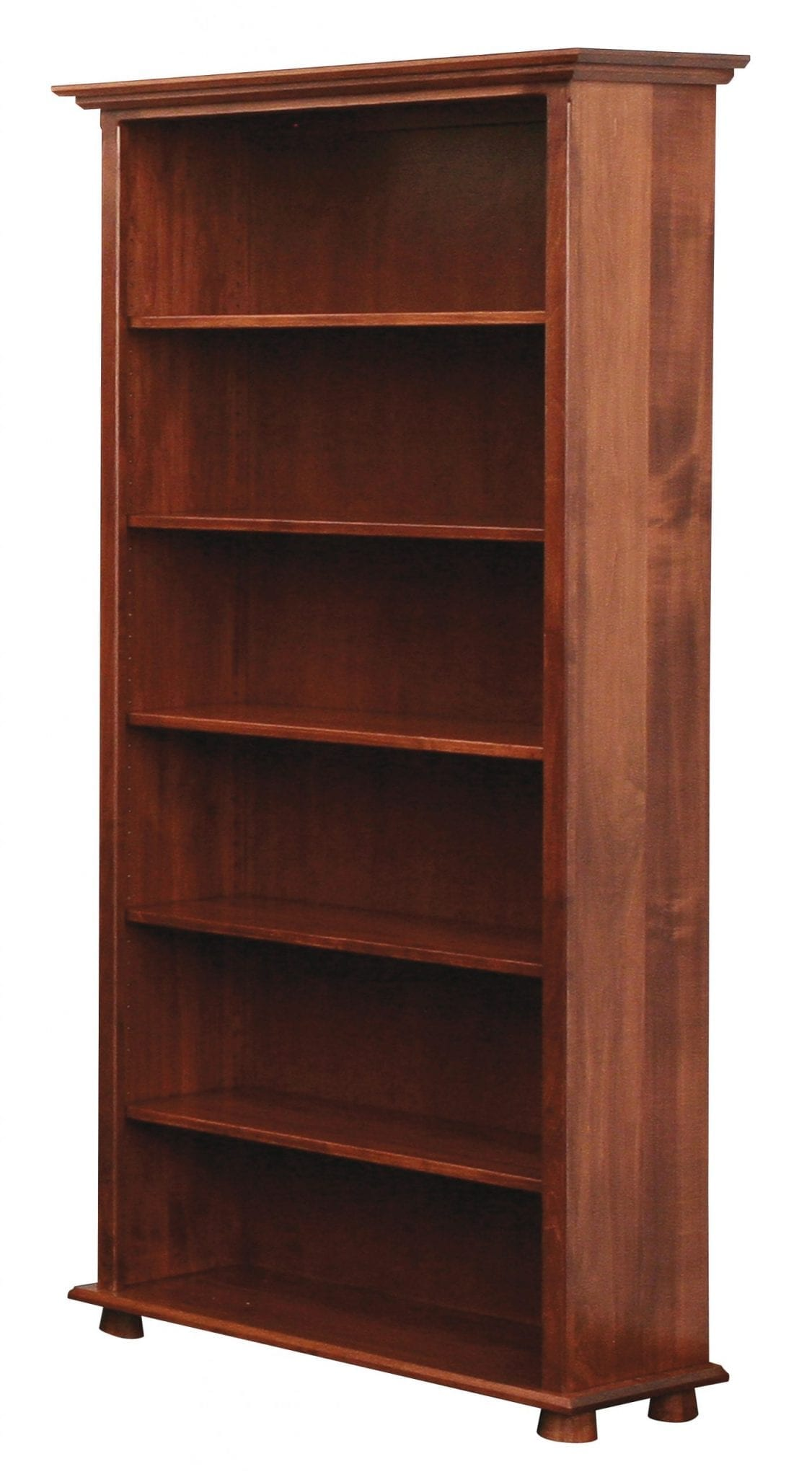 Lincoln Amish Solid Wood Bookcase | Kvadro Furniture