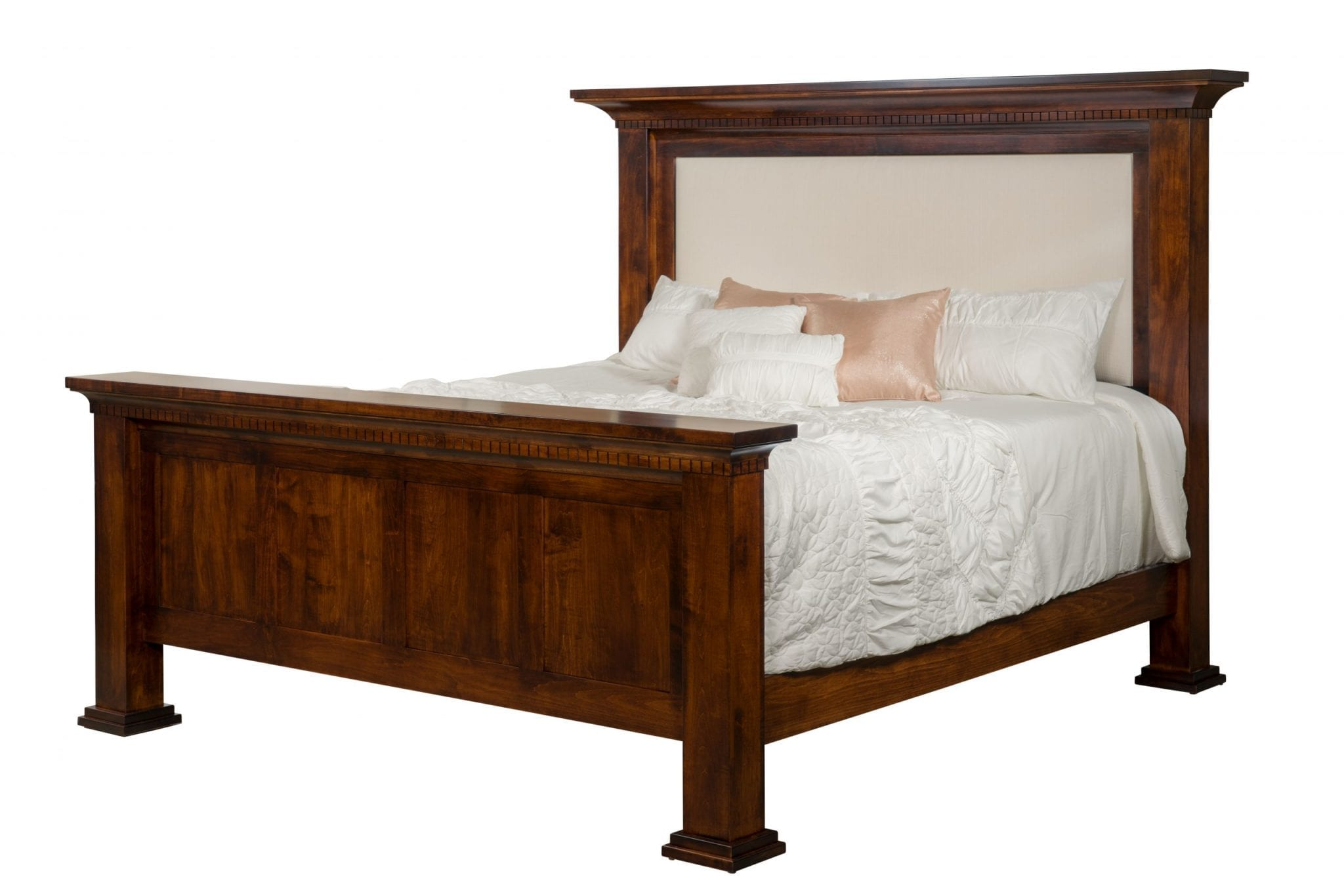 Empire Bed  Amish Solid Wood Beds