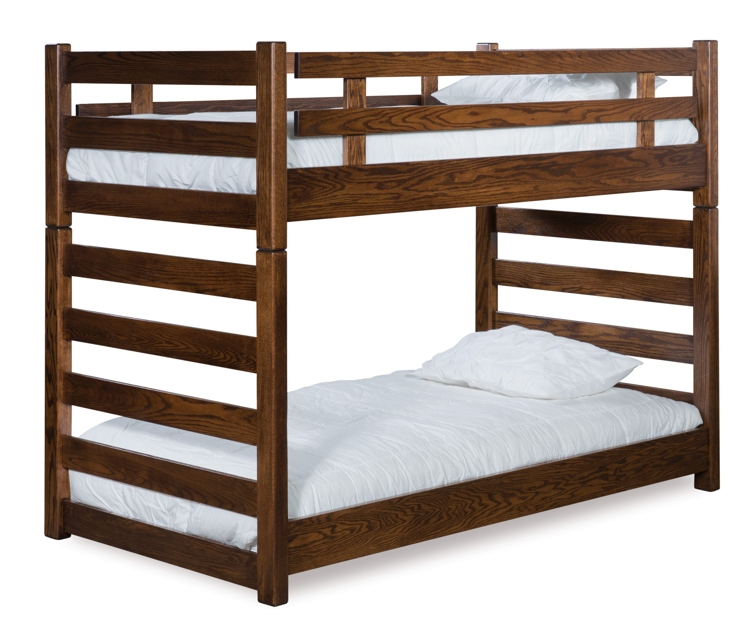 Picture of: Ladder Bunk Bed Amish Solid Wood Beds Kvadro Furniture